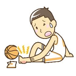 山梨県笛吹市 ふえふき整骨院:スポーツ外傷のイラスト